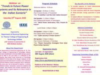 Webinar on -Trends in Future Power Systems and its Relevance in the Indian Scenario on 29th August,2020