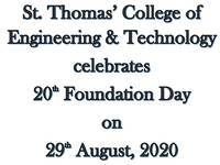 Online 20th Foundation Day Celebration on 29th  August 2020