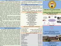 AICTE Sponsored Short Term Training Programme (Phase II) (23.11.2020 to 28.11.2020)