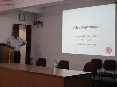 "Lecture on ""Video Segmentation"" by Dr. Sanjoy Kumar Saha - STCET Student Chapter of IE(I) (05/04/2019) 2"
