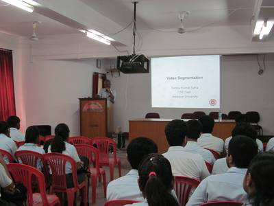 "Lecture on ""Video Segmentation"" by Dr. Sanjoy Kumar Saha - STCET Student Chapter of IE(I) (05/04/2019) 3"