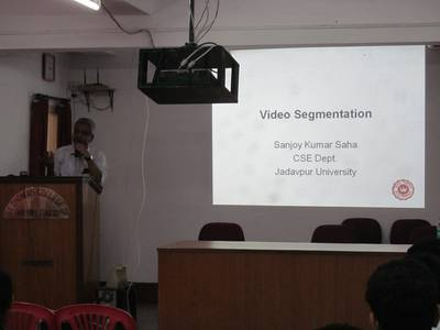 "Lecture on ""Video Segmentation"" by Dr. Sanjoy Kumar Saha - STCET Student Chapter of IE(I) (05/04/2019) 5"