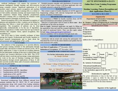 AICTE Sponsored Short Term Training Programme (Phase II) page-2